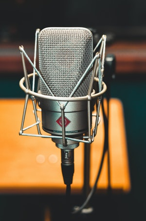 Mikrofon Gesangsaufnahmen